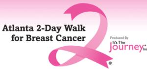 2 day walk for breast cancer Atlanta